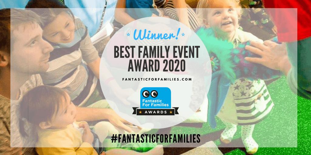 Winners! Fantastic for Families Award